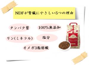 NDFナチュラルドッグフードが腎臓にやさしい5つの理由